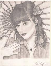 Katy Perry Portrait. by Melanie02