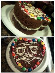 Me Gusta cookie cake. by Melanie02