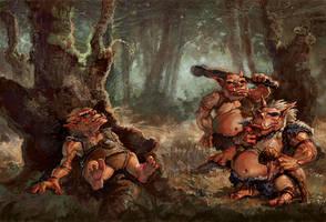 Trolls by thegryph