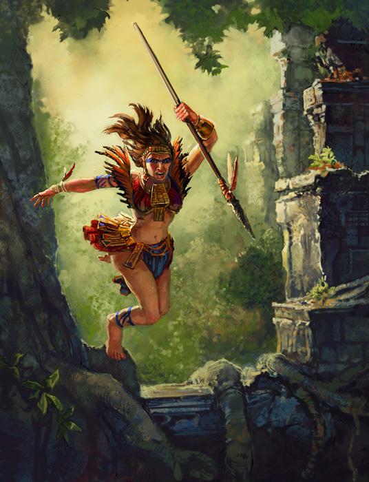Las amazonas salvajes guerreras taringa for En la mitologia griega la reina de las amazonas