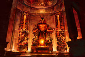 Lucifer's Throne Room by thegryph