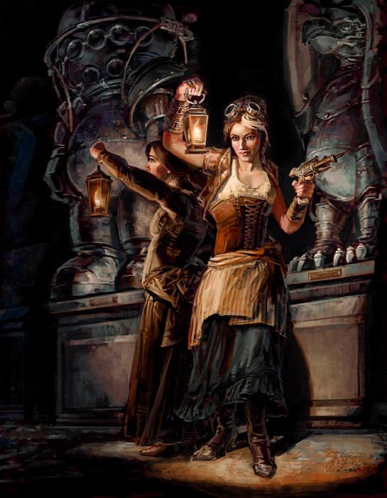 Night at the Steampunk Museum