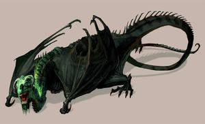 Creature Design - Aging Dragon