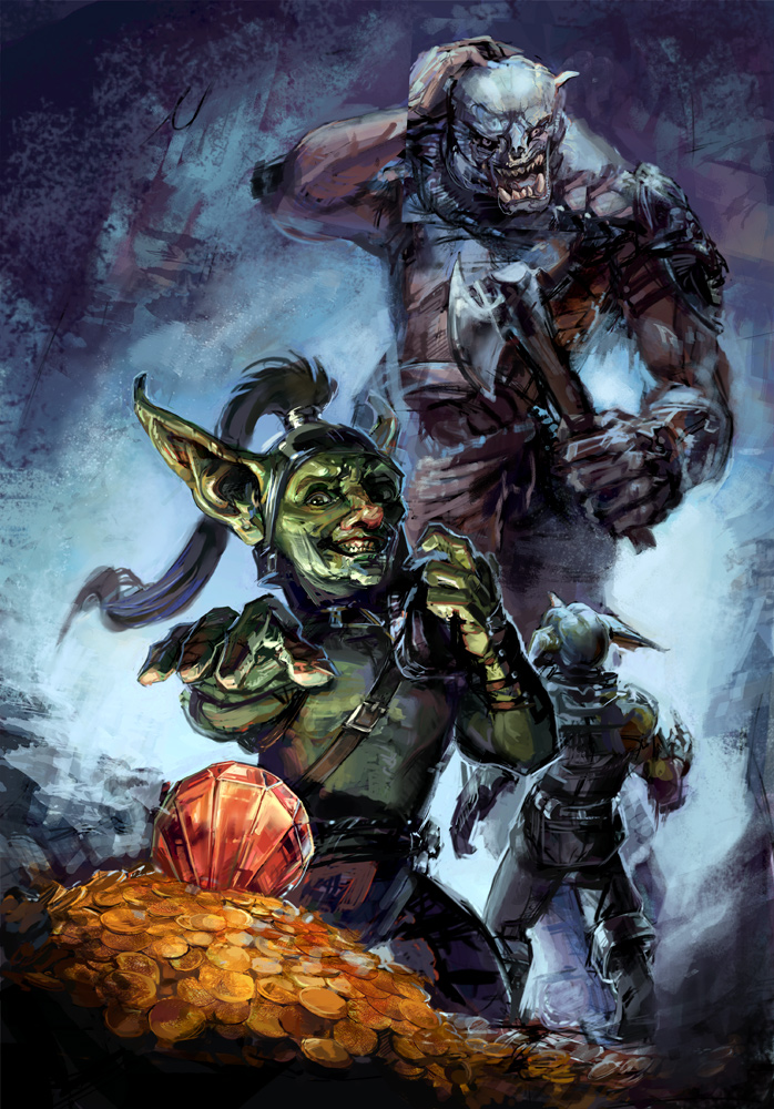 Goblins by thegryph
