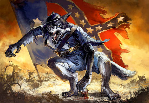 Civil War Werewolf