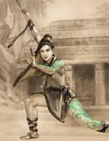 Jadepunk: Monk by thegryph