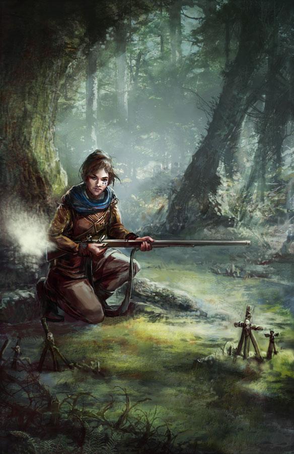 Gunpowder Witch by thegryph