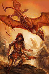 Desert Dragons by thegryph