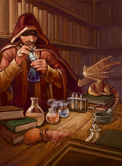 Alchemist by thegryph on DeviantArt