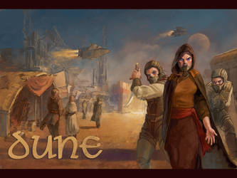 Dune Wallpaper by thegryph