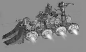 Metrocalypse: Vehicle Concept