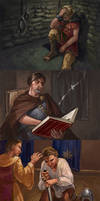Game of Thrones Cards by thegryph