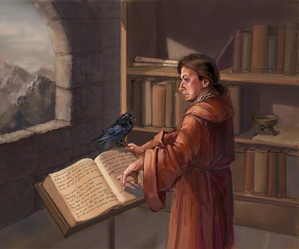 Maester Wendamyr by thegryph