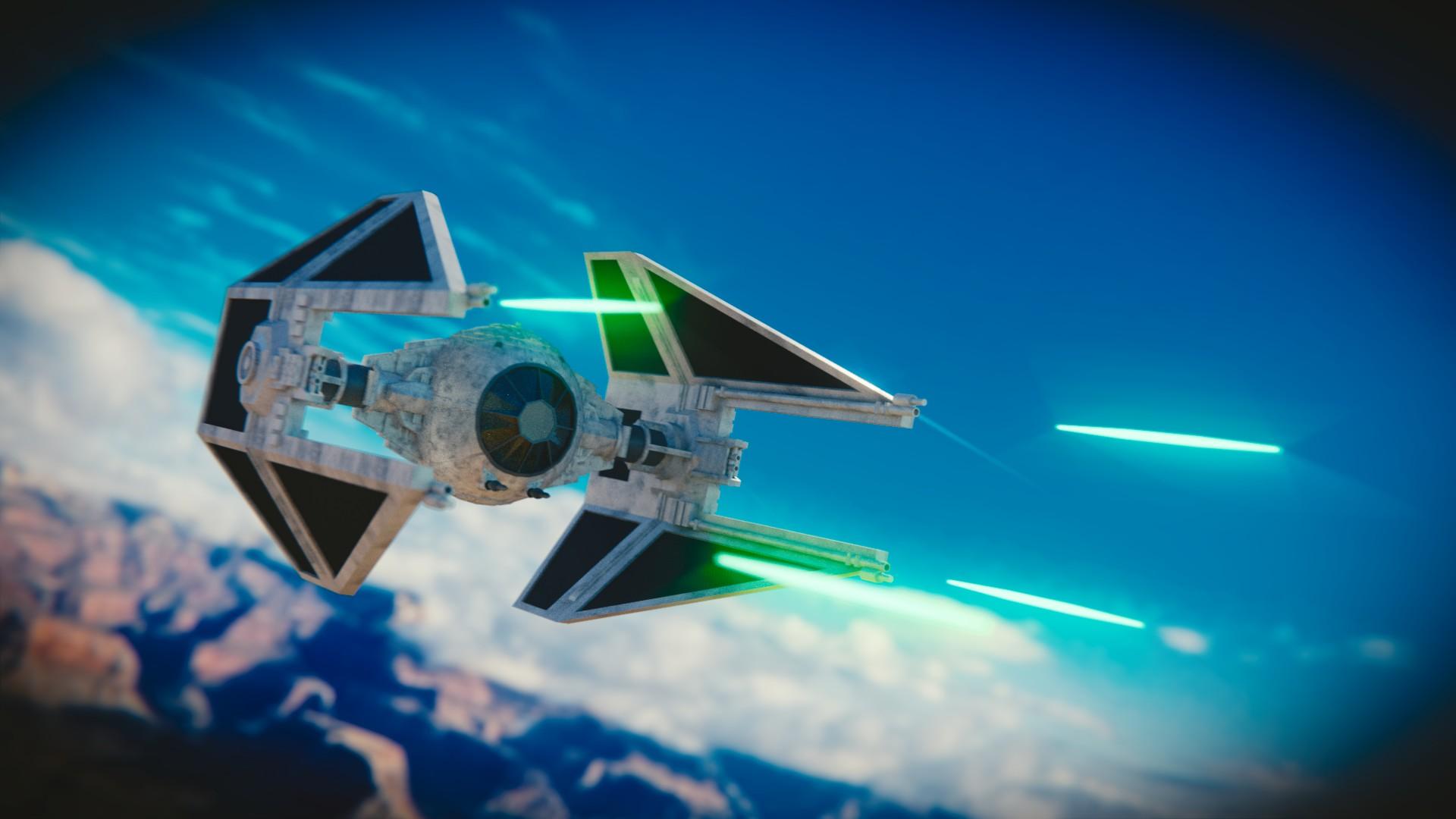 Star Wars: Tie Interceptor by silveralv on DeviantArt