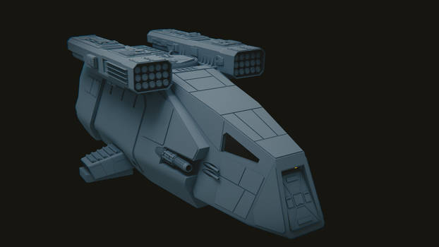 Star Wars: Delta-class DX-9 Stormtrooper Transport