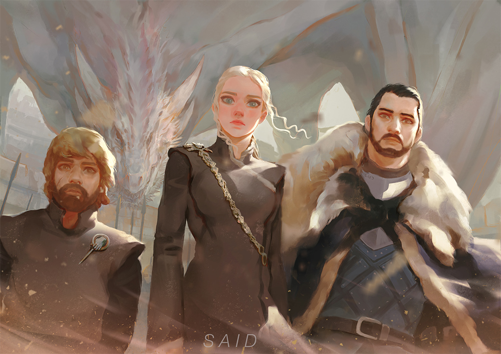 Game Of Thrones by Sayta0
