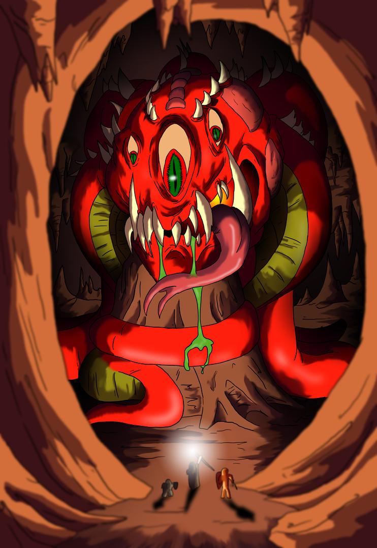 Cavern Of The Beast by mattjoe2000