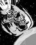 Cyborg Superman vs. Superman by mattjoe2000