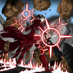 Scarlet Witch is pissed by mattjoe2000
