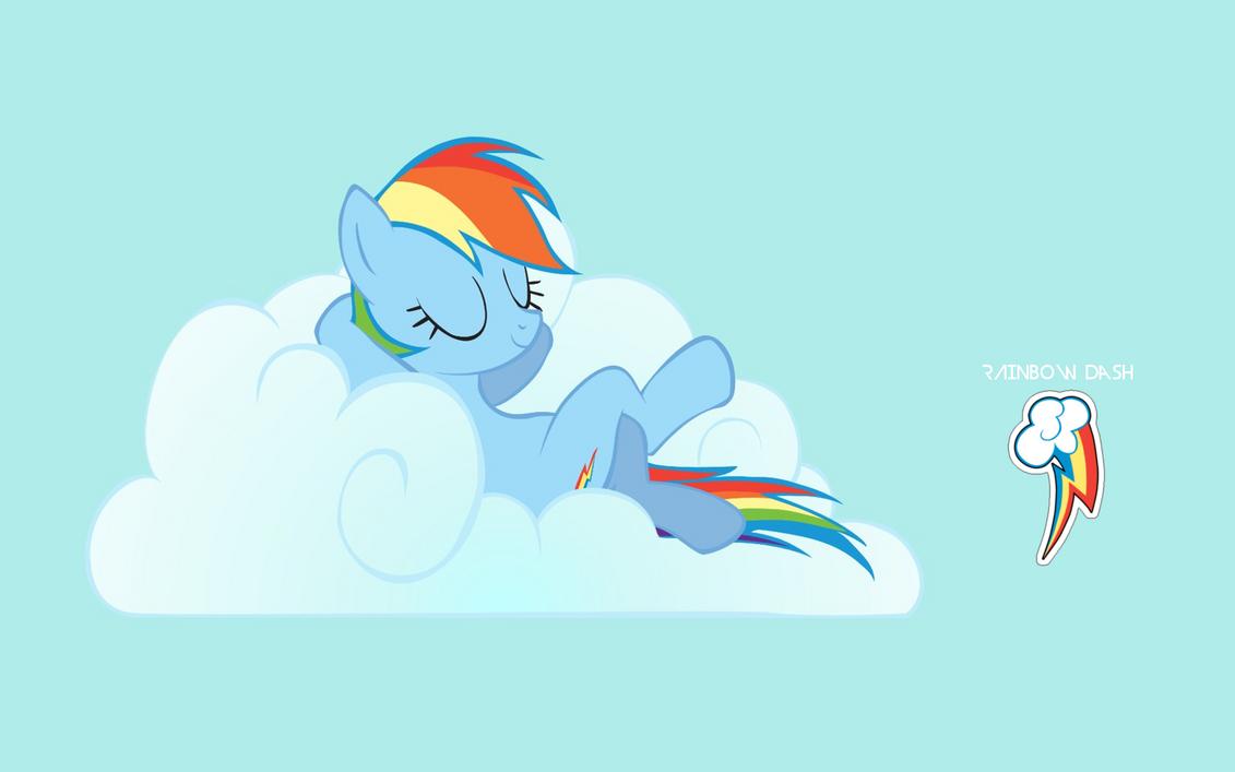 Rainbow Dash Wallpaper by adamlikesponies