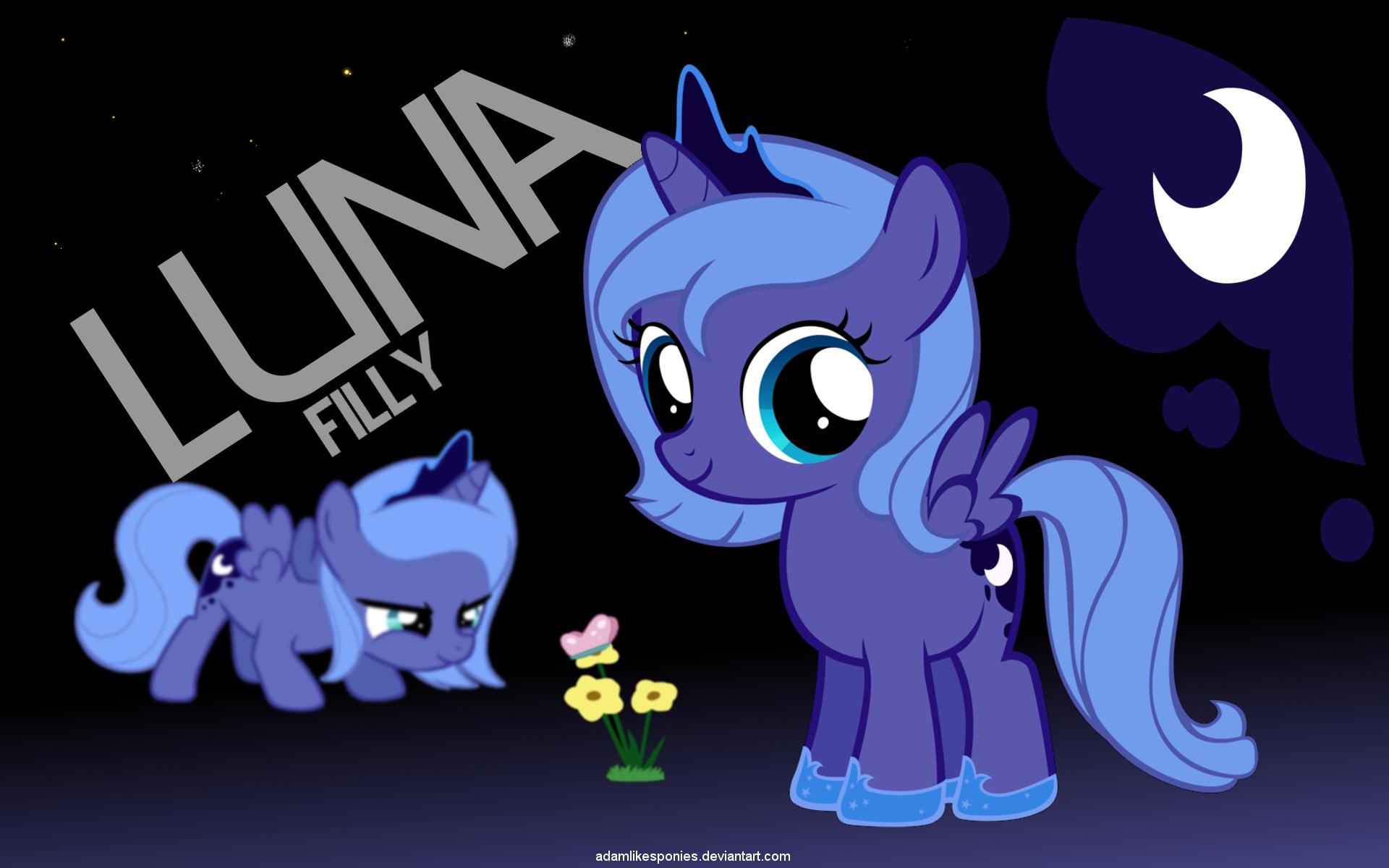 Filly Luna by adamlikesponies