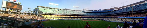 Dodger Stadium 01 by bigbluemango