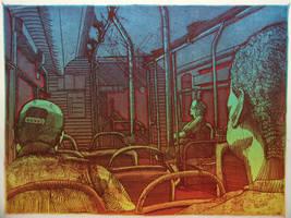 Bus Ride by bigbluemango