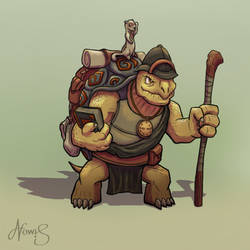 Tortle Explorer by nowis-337