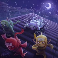 Fish Ninjas by nowis-337