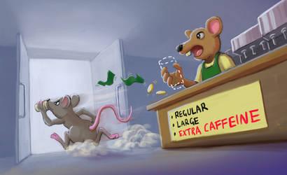 Caffeinated Mouse
