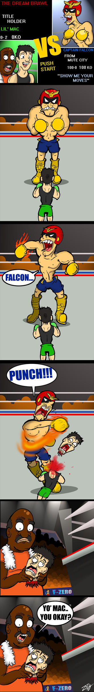Falcon PunchOUT by ZoDy