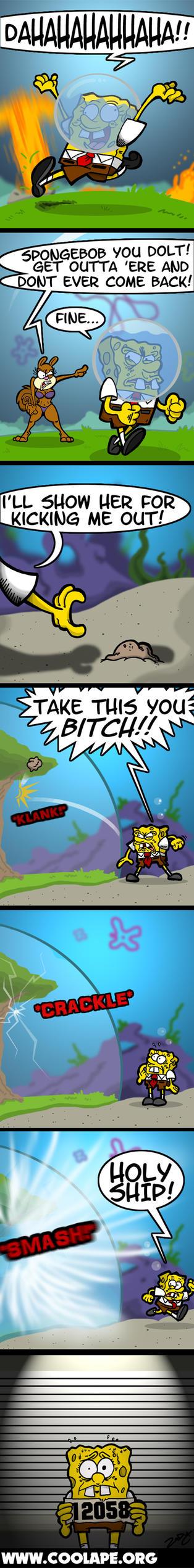 spongebob rocks by zody on deviantart