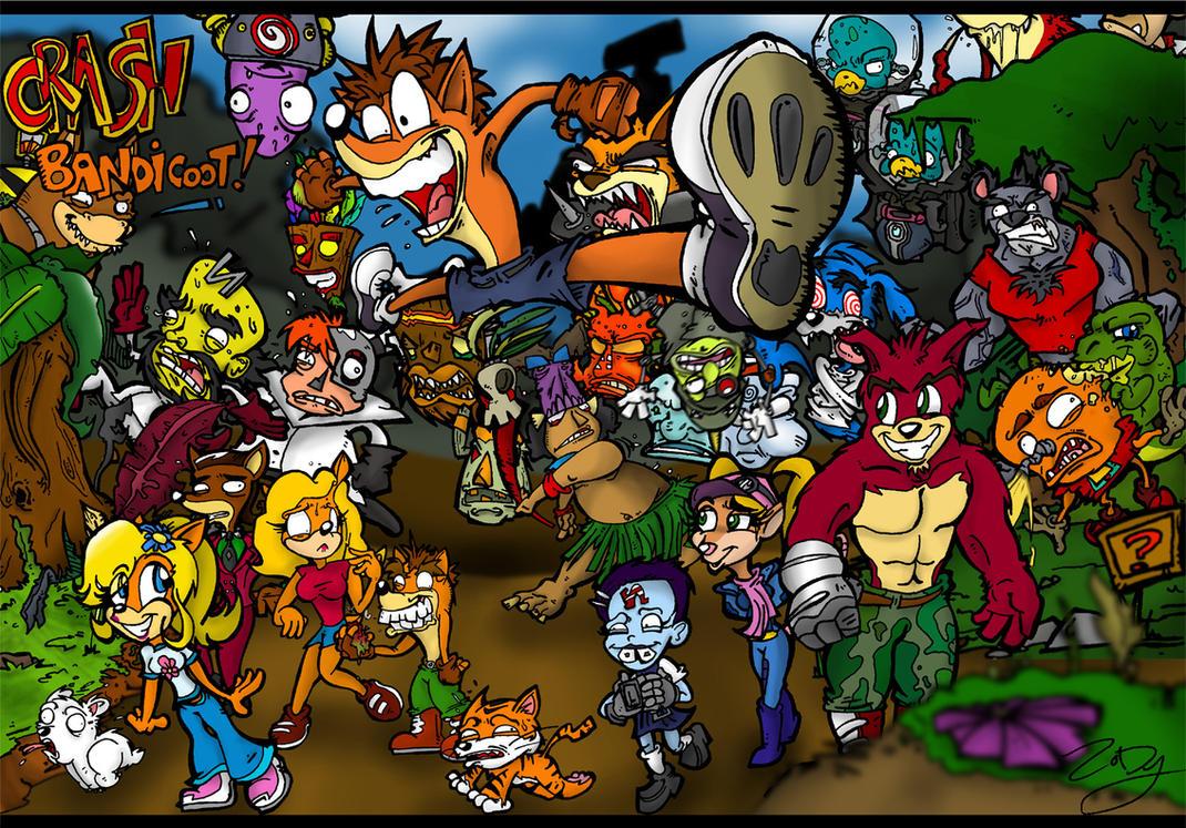 Crash Bandicoot by ZoDy