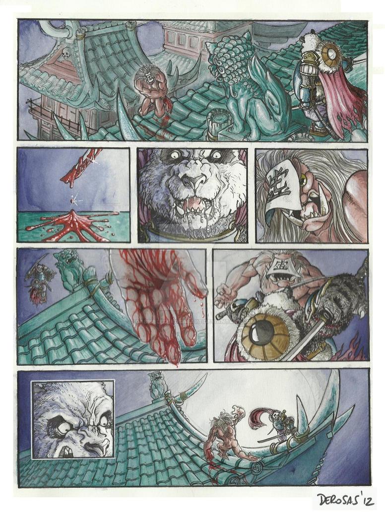 Daikuma sample page 3 by GabrieleDerosasArt