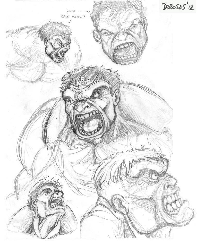 Hulk Concepts by GabrieleDerosasArt