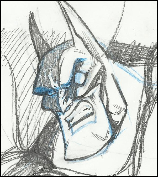 Batty_sketch by GabrieleDerosasArt