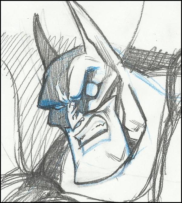 Batty_sketch by GabrieleDerosasArt