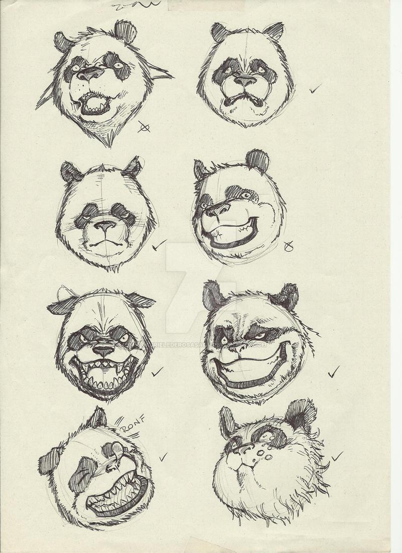 Daikuma expressions study by GabrieleDerosasArt