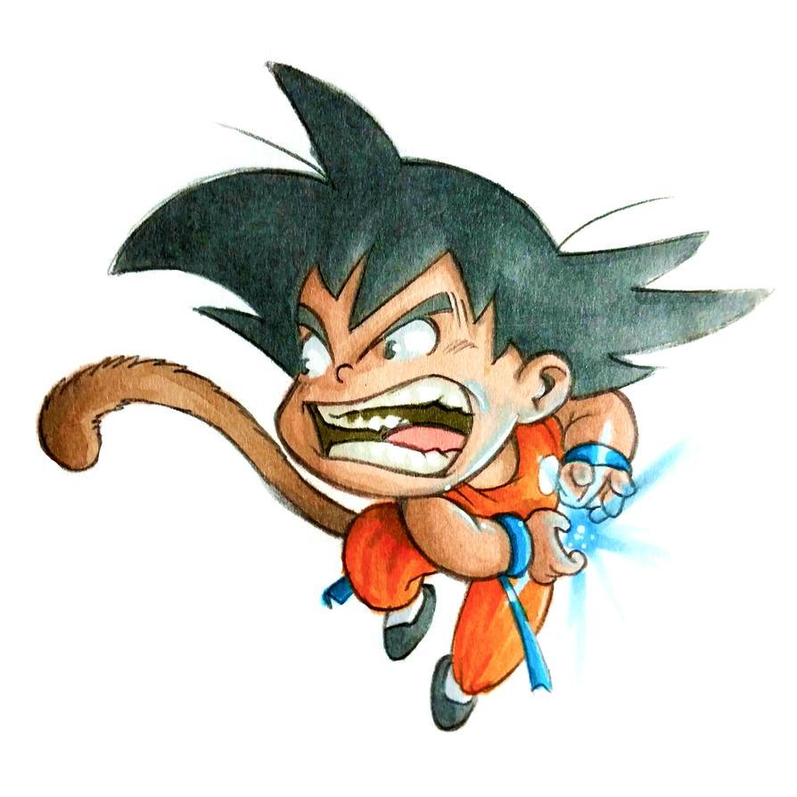Goku by GabrieleDerosasArt