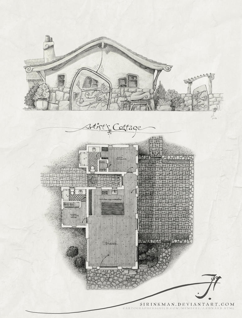 Artist's Cottage by SirInkman