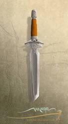 Moon knife by SirInkman