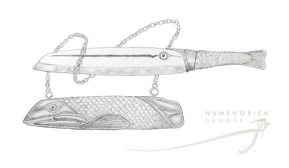 Numenorien Dagger by SirInkman