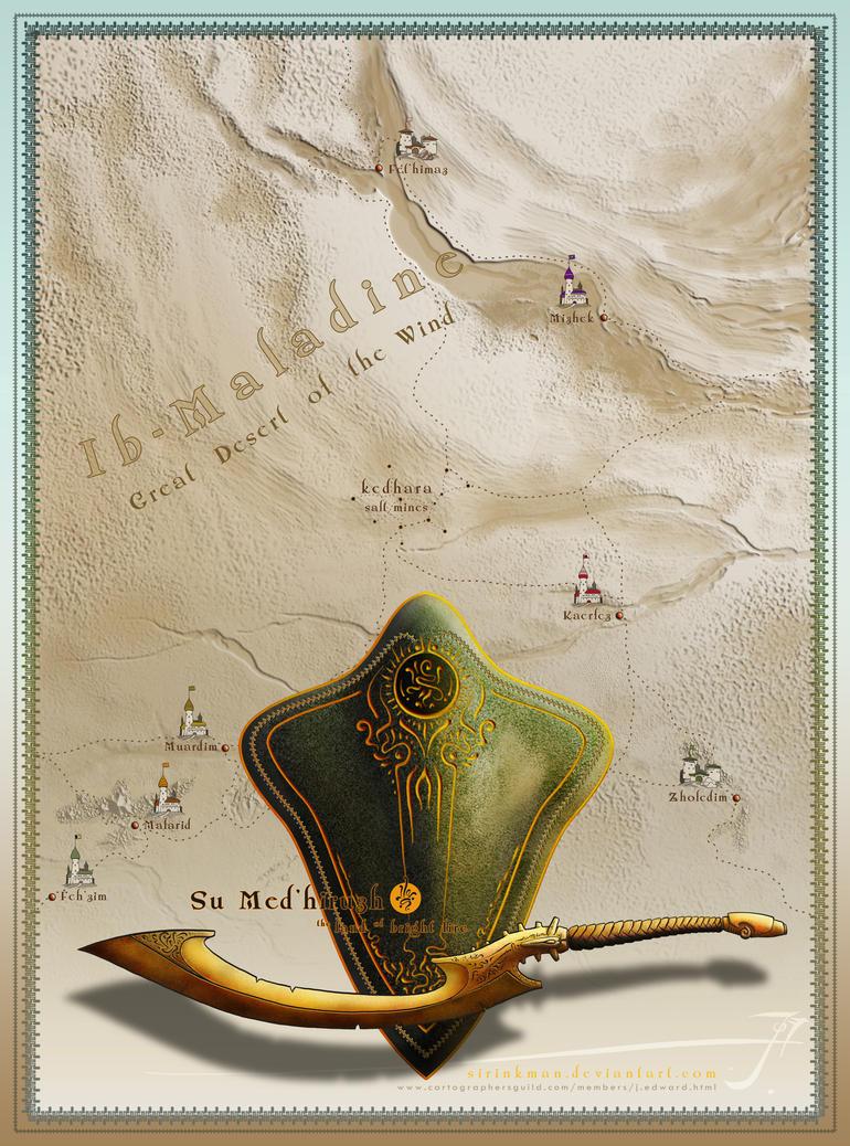 Su Med'hiruzh map by SirInkman