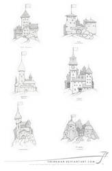 City icons by SirInkman