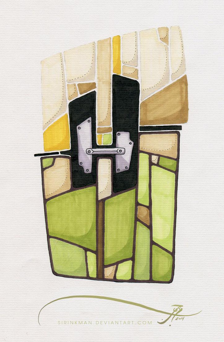 The Green Mech H by SirInkman