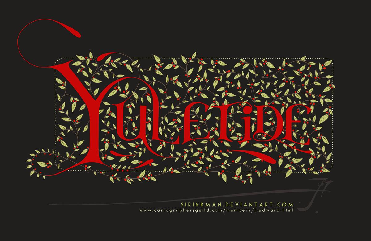 Yuletide [digital dark] by SirInkman