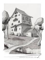 Magstowe Manor by SirInkman