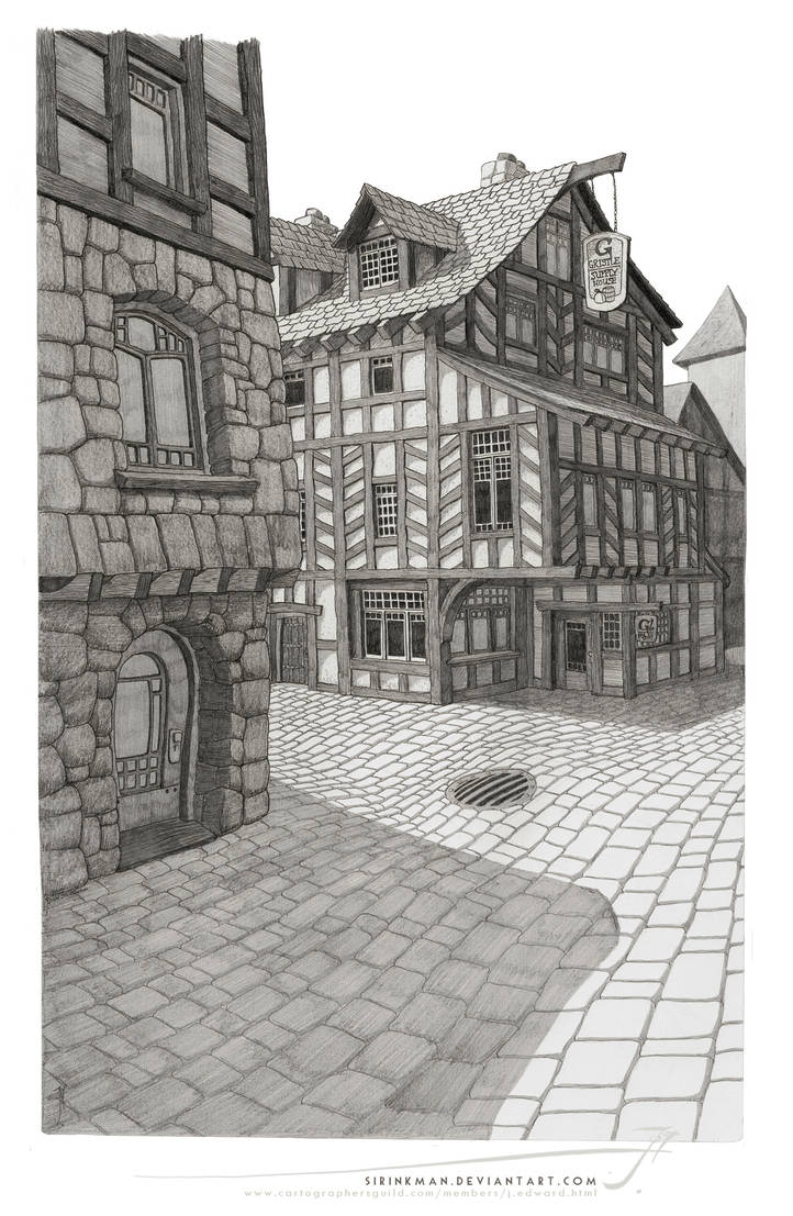 Harbor and Gristle [pencil] by SirInkman