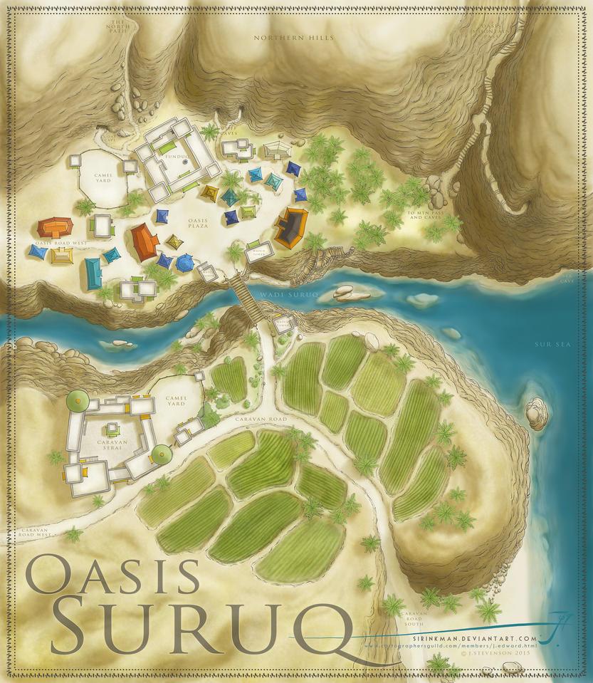 Oasis Suruq by SirInkman