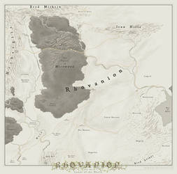 Rhovanion [Middle Earth] by SirInkman